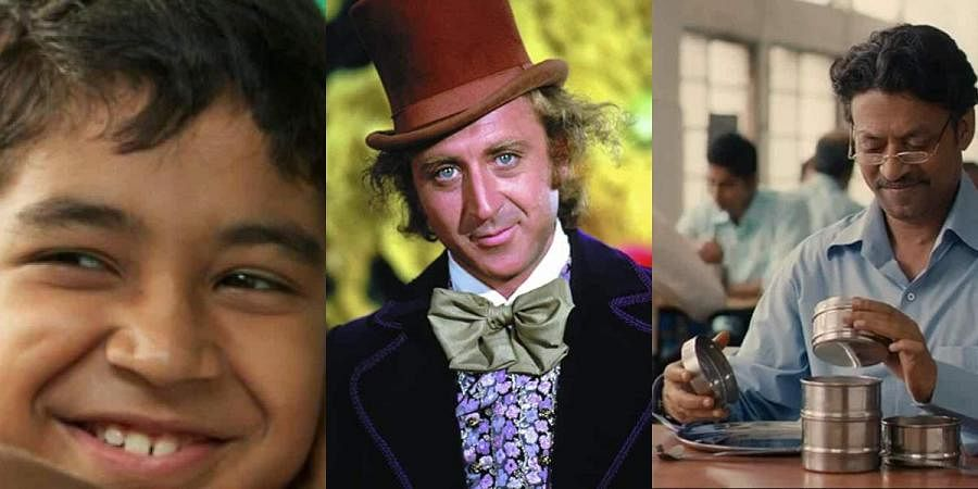 (From left) Stanley Ka Dabba, Willy Wonka and The Lunchbox