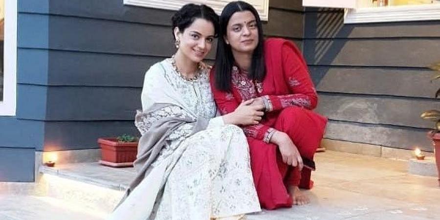 Rangoli Chandel with sister Kangana Ranaut