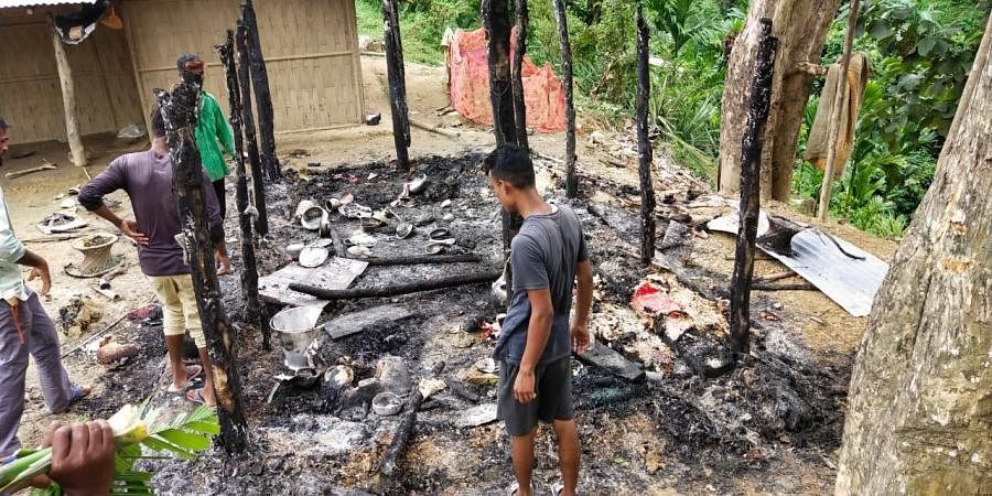 The locals claimed over 40 Assam villagers were injured.
