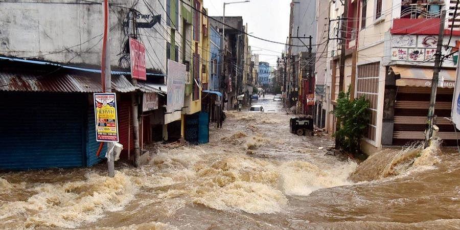 Hyderabad rains, Flood