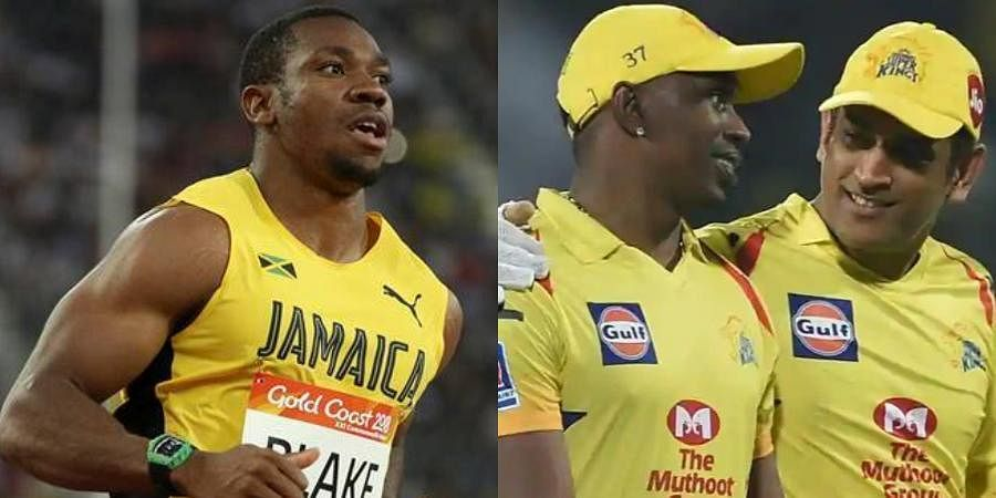 Youngest 100m world championship Yohan Blake questioned MS Dhoni's decision to give Ravindra Jadeja the final over.