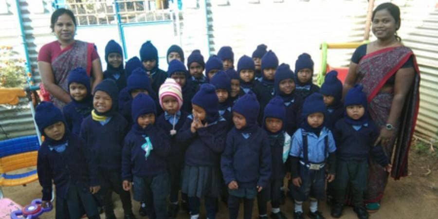The Little Angel Play Schoolhas over 50 students now