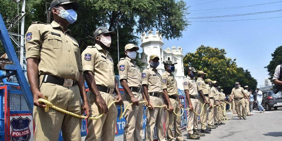 Telangana police, Hyderabad police