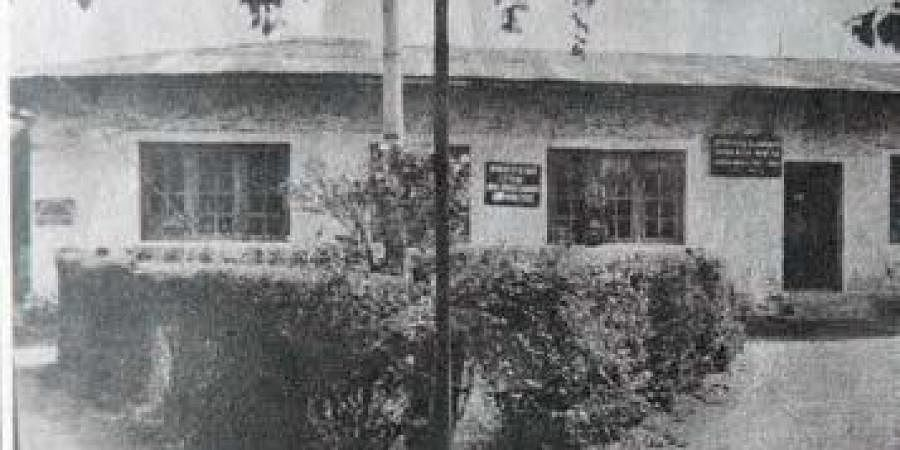 The post office building constructed at Munnar in 1928