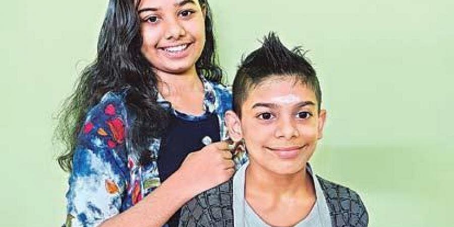 Gayatri and Goutham Eravil