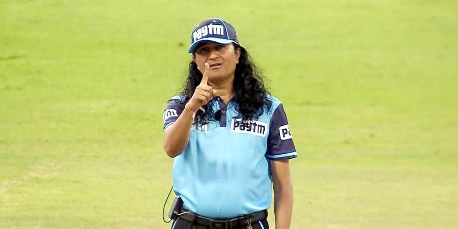 Indian umpire Paschim Pathak