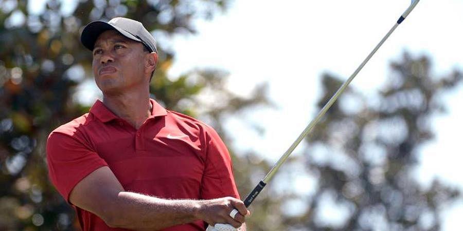 14-time major champion Tiger Woods