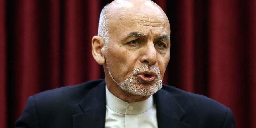 Afghanistan president Ashraf Ghani