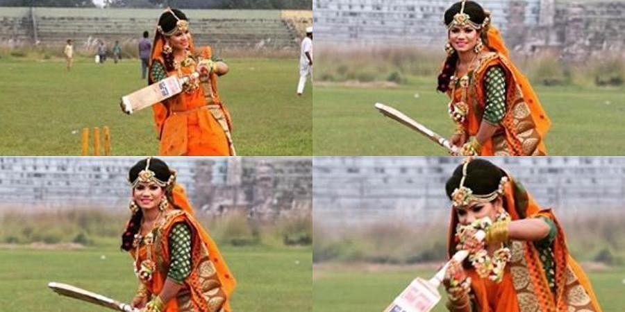 Bangladesh woman cricketer Sanjida Islam