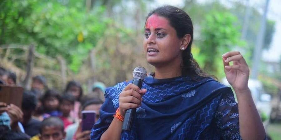 Arjuna-awardee and BJP candidate from Jamui Shreyasi Singh