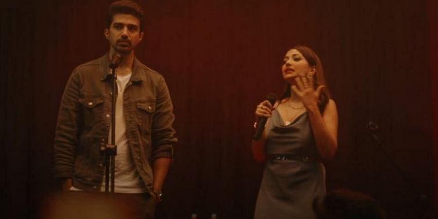 Saqib Saleem (L) and Shweta Basu Prasad in Comedy Couple