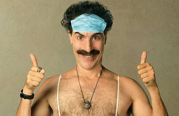 BORAT SUBSEQUENT MOVIEFILM: It is a follow-up to the 2006 comedy centering on the real-life adventures of a fictional Kazakh television journalist named Borat. The film stars Sacha Baron Cohen and Irina Nowak in the lead roles, and is directed by Jason Woliner. It will release on October 23 on Amazon Prime Video.