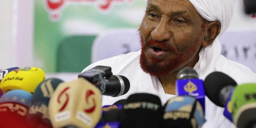Sudanese Prime Minister Sadiq al-Mahdi