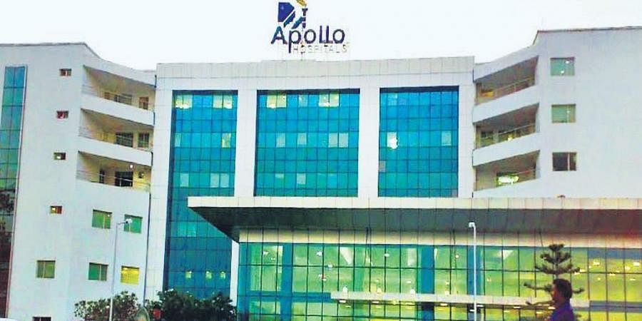 Representational image of Apollo hospital