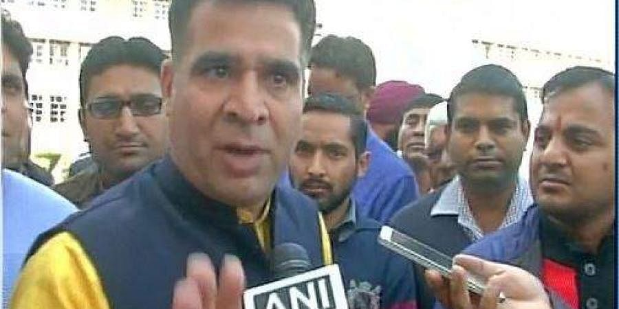 BJP chief of Jammu and Kashmir unit, Ravinder Raina