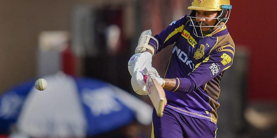 Kolkata Knight Riders player Sunil Narine