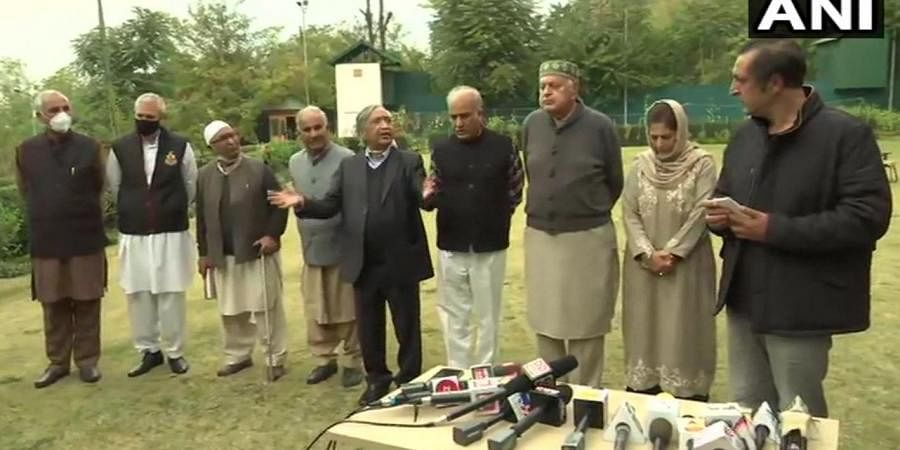 Farooq Abdullah after 'People's Alliance for Gupkar Declaration' meet in Srinagar