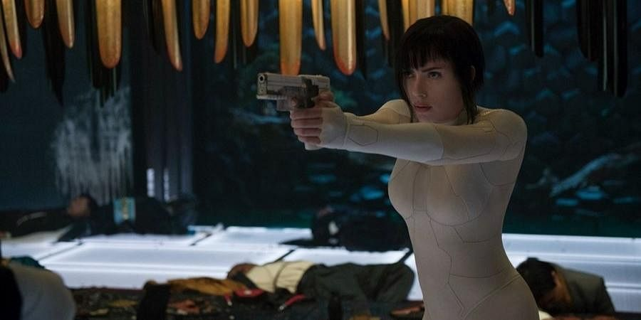WHAT IS WHITEWASHING?:   Whitewashing refers to the culture of substituting characters/personalities of another race by white people on the screen and stretching or manipulating a story to connect with white audiences by satisfying their lifestyle or worldview.  (IN PIC: Scarlett Johansson as Motoko Kusanagi from 2017 Japanese manga-based 'Ghost in the Shell')