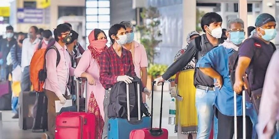 Passengers can now get tested for Covid-19 at the Delhi airport