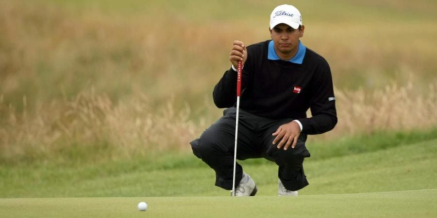 Indian golfer Gaganjeet Bhullar