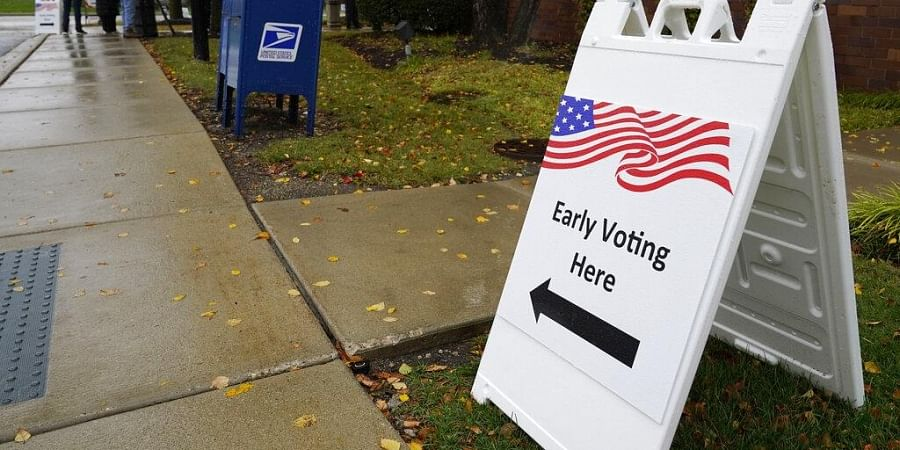 United States; early voting; US elections 2020