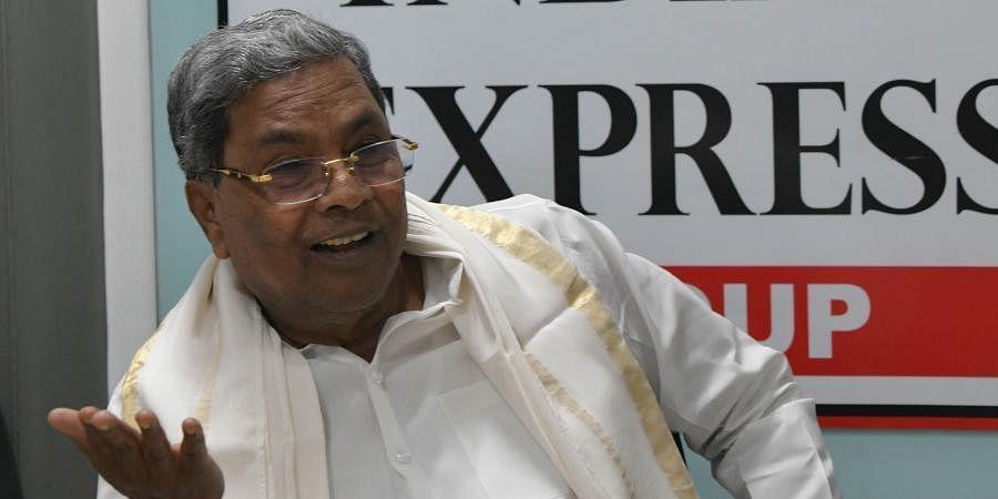 Former Karnataka CM Siddaramaiah