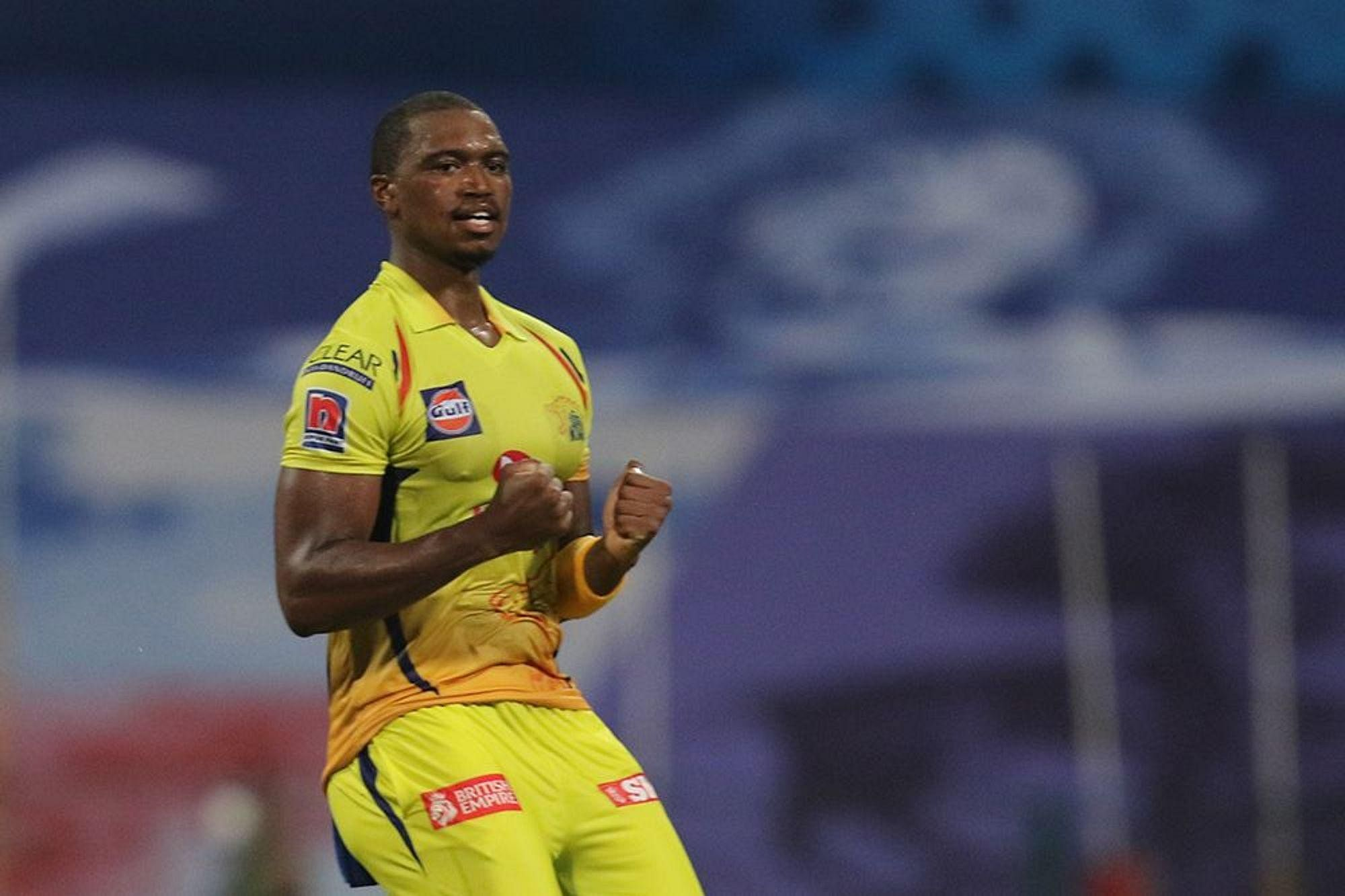 Lungisani Ngidi of the Chennai Superkings