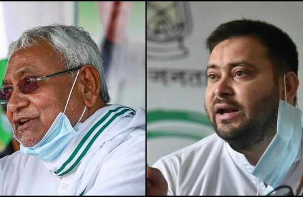 Bihar elections: Nitish fires '8-9 kids' jibe, Tejashwi retorts with 'mentally tired' barb
