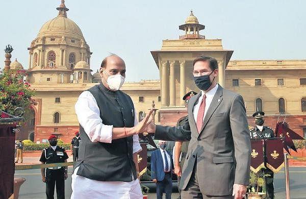 2+2 dialogue: Mike Pompeo, Mark Esper call on PM Modi