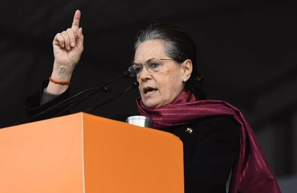 High on power andego, Bihar Government has deviated from its path: Sonia slams Nitish Kumar