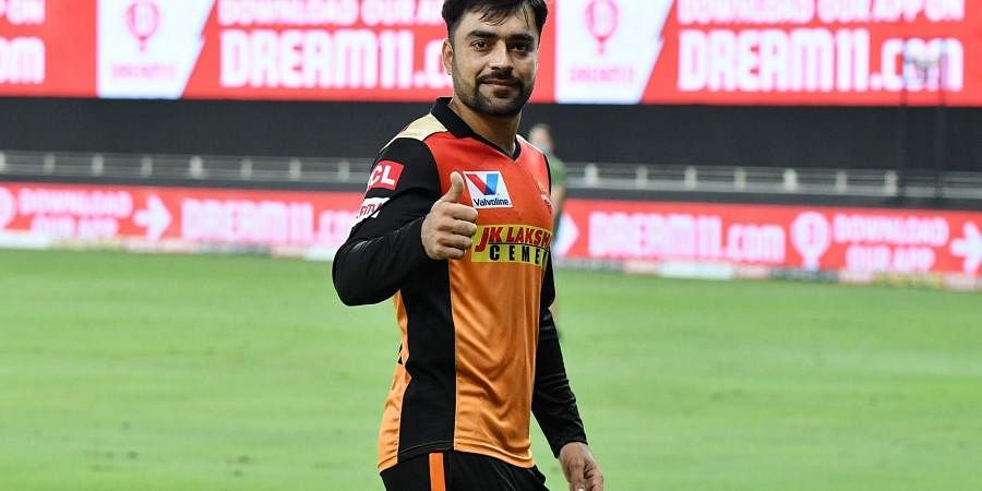 SRH star bowler Rashid Khan. (Photo | IPL)
