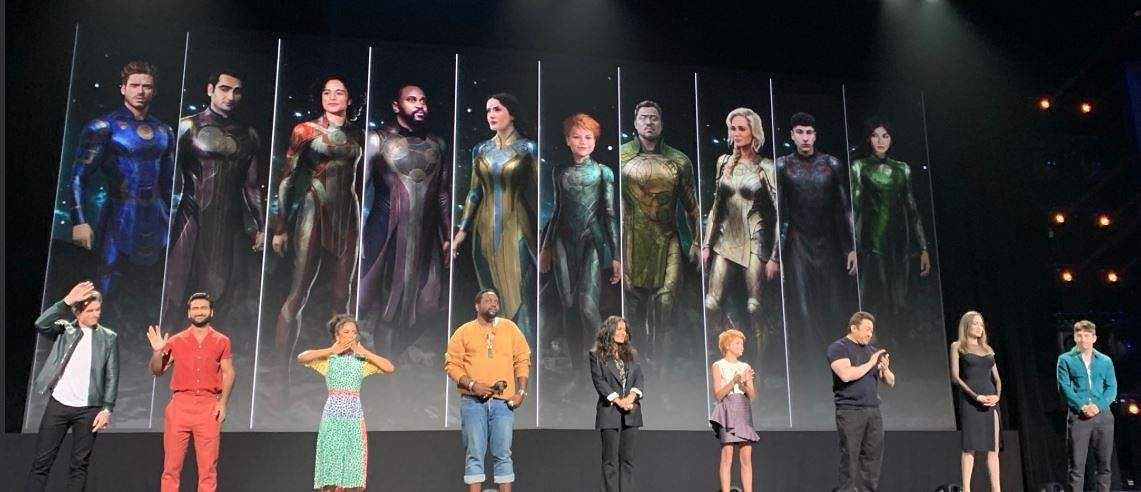'The Eternals' cast and characters.
