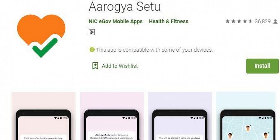 India's Own Coronavirus Tracking App, Arogya Setu App