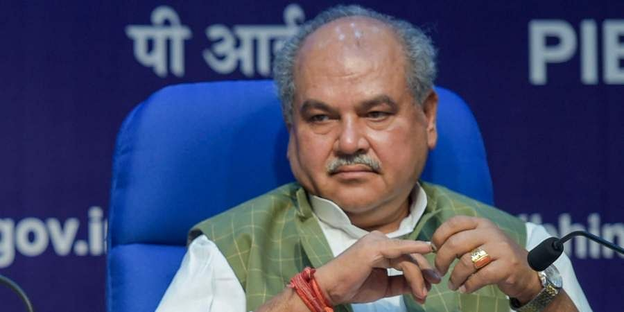 Narendra Singh Tomar, Minister of Agriculture and Farmers Welfare