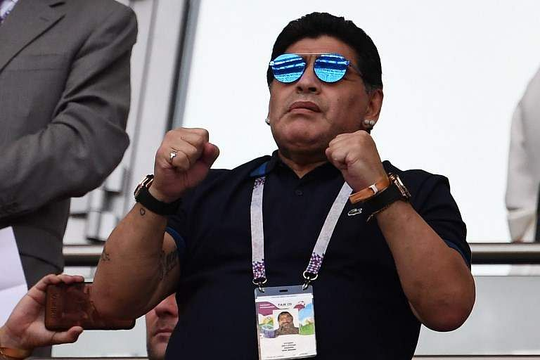 Maradona, who operated in number ten position throughout his career, was the first player in football history to set the world record transfer fee twice. He was transferred to Barcelona in 1982 for a then world record USD 7.6 million. In 1984, he joined Italian side Napoli and broke his previous highest transfer fee record by getting signed for USD 10.48 million. (File | AP)