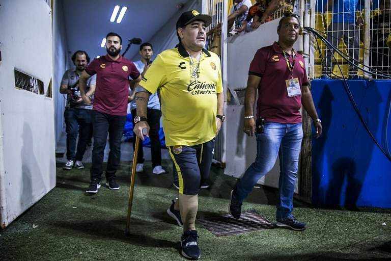 Maradona, who now coaches Mexican second division side Dorados, amused everyone at an age of 12 and became part of Los Cebollitas (The Little Onions), the junior team of Argentinos Juniors. He named Brazilian playmaker Rivelino, along with Manchester United and England legend George Best among his inspirations. (File | AFP)