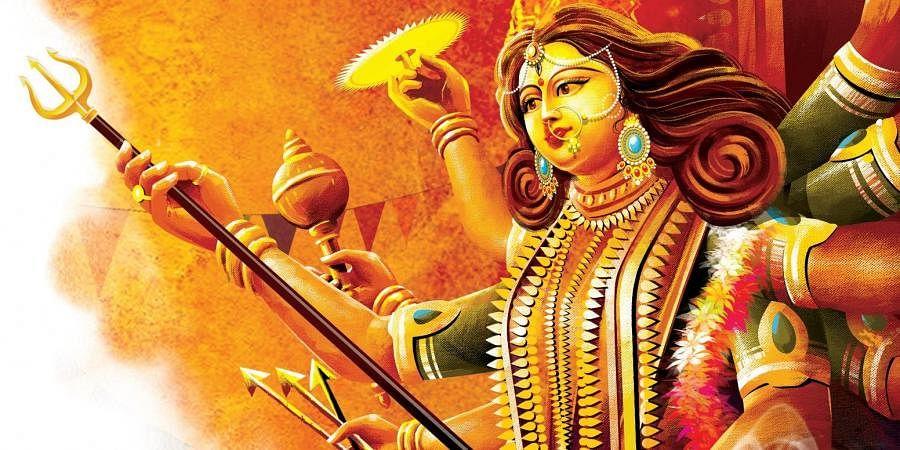 Navaratri, Durga puja