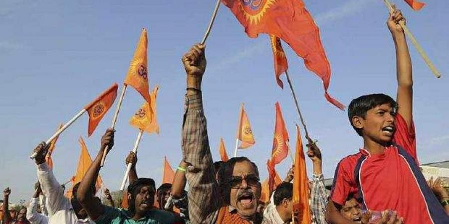 Bajrang Dal supporters