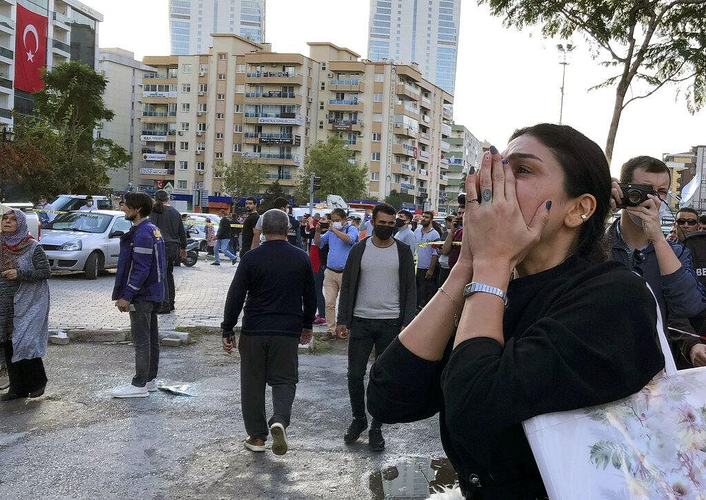 The quake was felt across the eastern Greek islands and as far as the Greek capital, Athens, and in Bulgaria. In Turkey, it shook the regions of Aegean and Marmara, including Istanbul. Istanbul's governor said there were no reports of damage in the city, Turkey's largest. (Photo | AP)