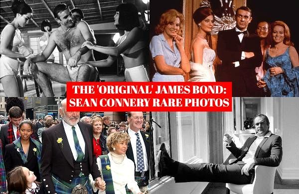 Scottish actor Sean Connery, considered by many to have been the best James Bond, has died aged 90, according to an announcement Saturday, October31, 2020, from his family. Check out the rare photos of 'The Original  James Bond'.