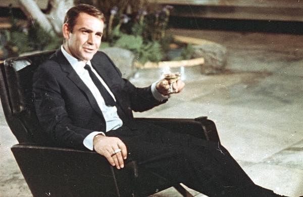 In this photo dated July 29, 1966, actor Sean Connery is shown during filming the James Bond movie 'You Only Live Twice', on location in Tokyo, Japan.