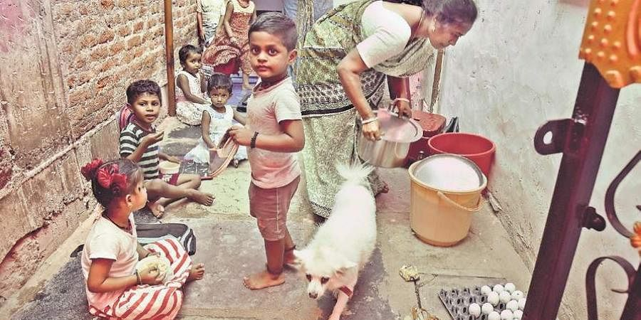 Several anganwadi centres in the city do not have proper infrastructure