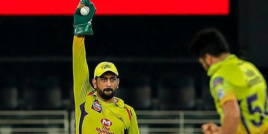 IPL 2020: CSK skipper MS Dhoni completes 100 catches as ...