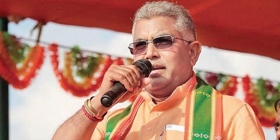 West Bengal BJP president Dilip Ghosh.