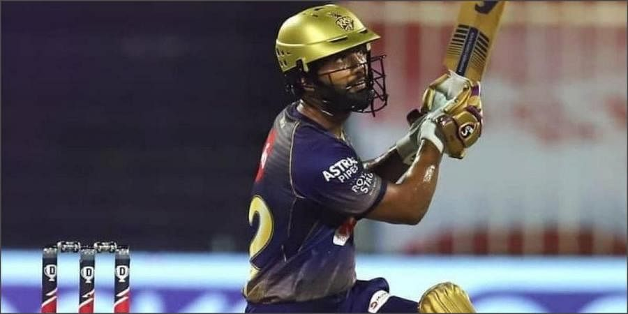 Image result for rahul tripathi kkr