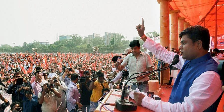 Vikassheel Insaan Party chief  Mukesh Sahni. (Photo| PTI)