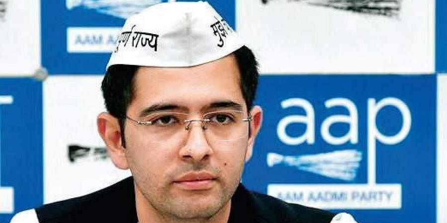 Aam Aadmi Party leader Raghav Chadha