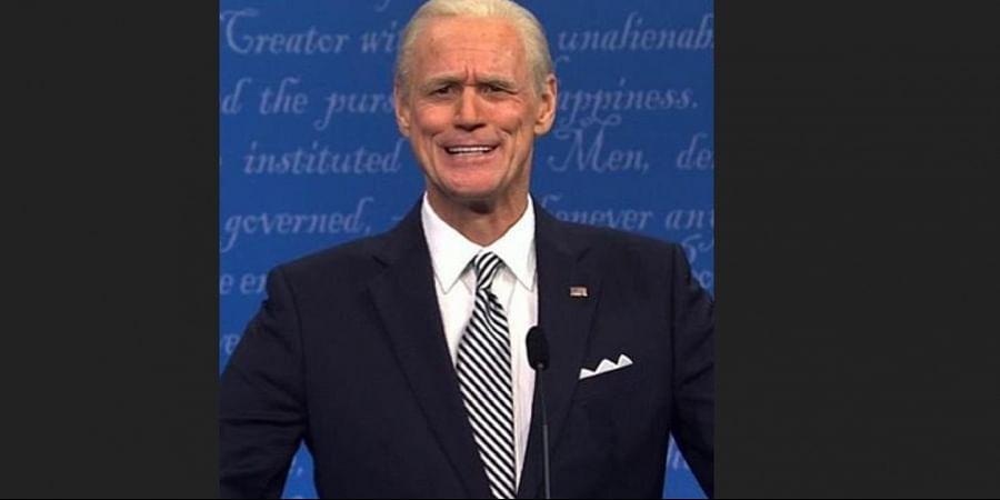 Actor Jim Carrey as former US Vice President and Democratic Party nominee Joe Biden. (Photo | Instagram)