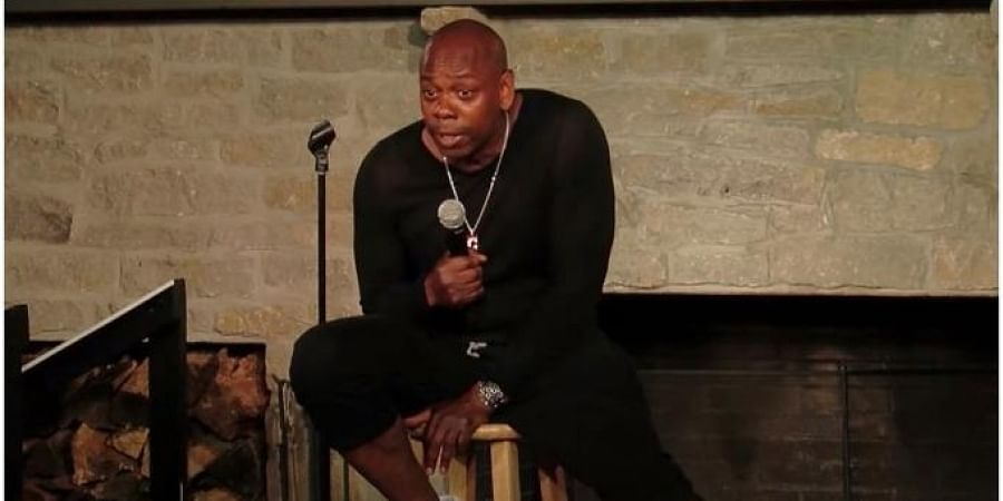 Stand-up comedian Dave Chapelle