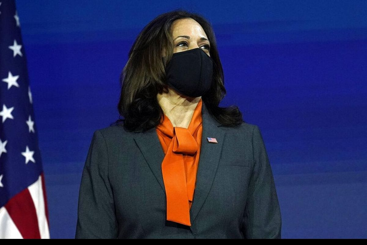 Ready To Write Next Chapter In Us History Vice Presiden Elect Kamala Harris The New Indian Express
